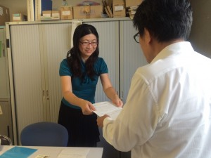 マイナンバー制度で要望書を名古屋市に提出
